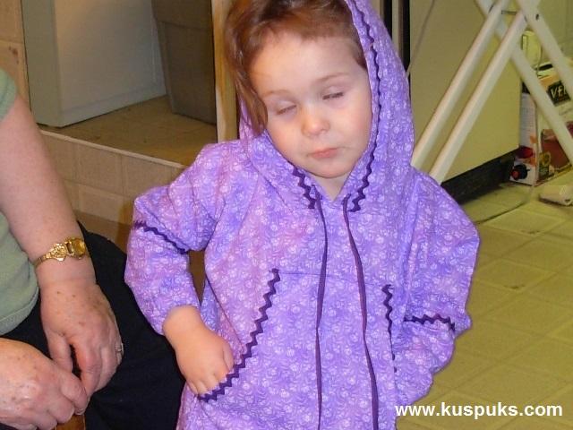 Natalie Wearing Her Kuspuk