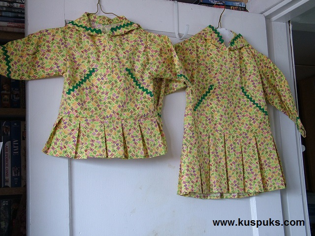 girls matching kuspuks