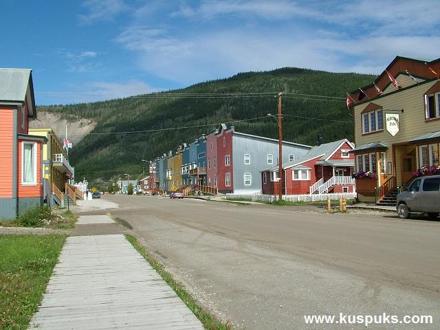 Trip to Dawson Canada